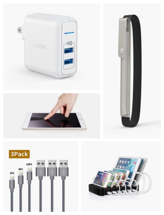 Save on iPad accessories before and during Cyber Monday 2017 - chargers, power stations, Apple Pen holders, more
