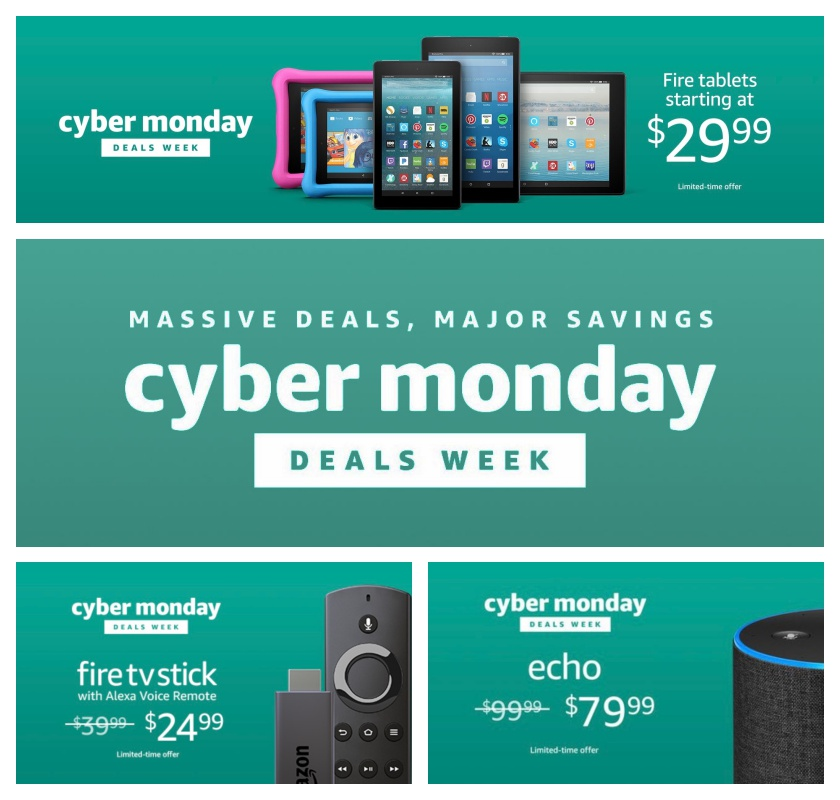 Here are amazons most exciting cyber monday 2017 deals fandeluxe Choice Image