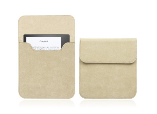 Walnew Suede Sleeve for Kindle Oasis 2 (2017)