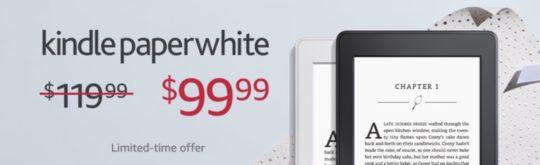2017 last-minute Kindle deals - save $20 on Kindle Paperwhite