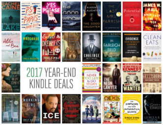 2017 year-end Kindle deals - over 1,300 books with prices reduced by up to 80%