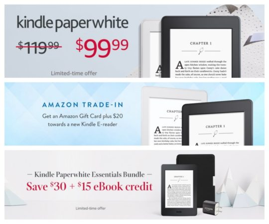 A complete guide to Kindle deals and sales for Christmas 2017