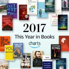 Amazon Charts 2017 - The Year in Books
