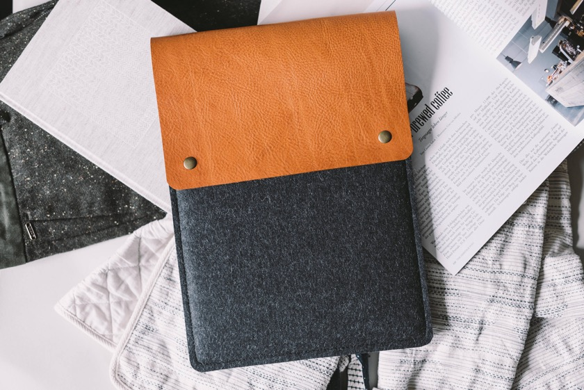 Band & Roll Italian Leather Sleeve for iPad Pro