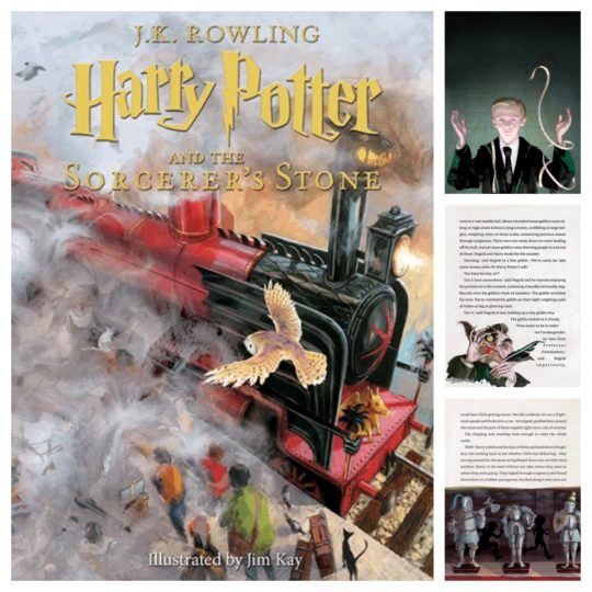 Best book gifts in 2017 - Harry Potter and the Sorcerer's Stone - Kindle in Motion Edition