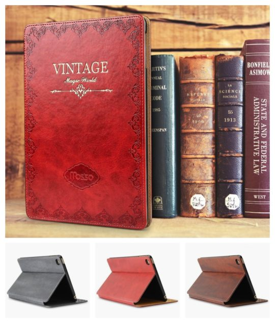 Best gifts for book lovers in 2017 - Vintage book iPad case