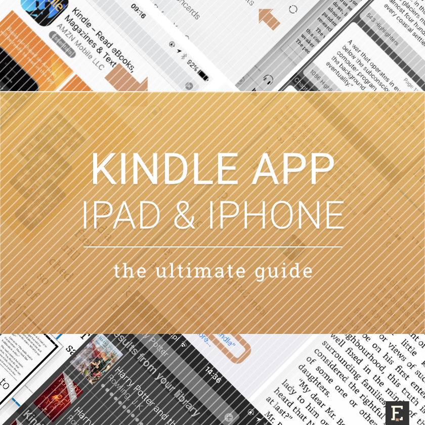 Kindle application for iPad - the ultimate guide