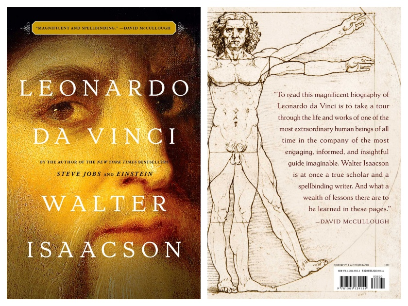 Leonardo da Vinci by Walter Isaacson - best books to gift in 2017