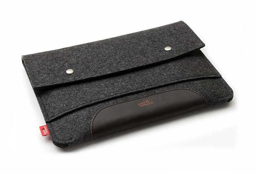 Pack & Smooch iPad Pro 12.9 Sleeve in Dark Felt