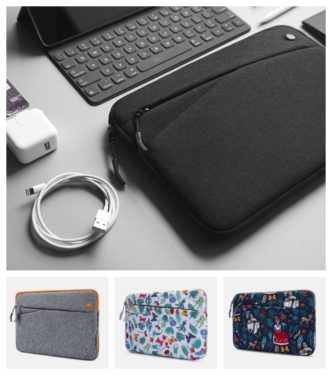 Popular iPad Pro 10.5 (2017) sleeve from Tomtoc comes in four color options