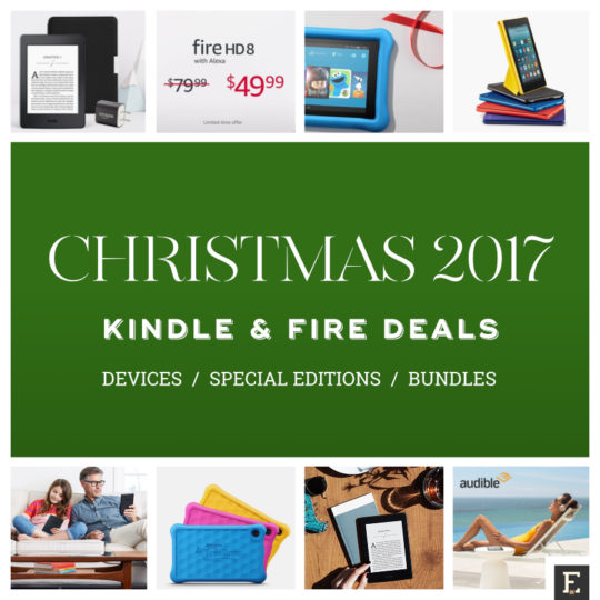 The best Christmas 2017 deals on Amazon and Kindle devices and bundles