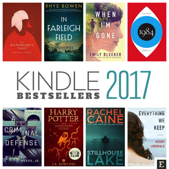 Top 100 best selling Kindle ebooks in 2017