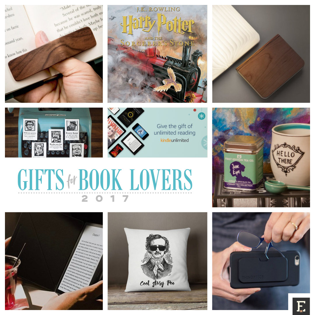 15 best bookish gifts of 2017 – a holiday gift guide for book lovers