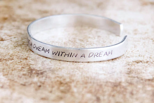 """A Dream Within a Dream"" Bracelet"