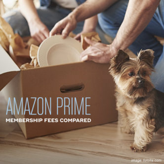 Amazon Prime membership - a comparison of monthly and annual fees across the world