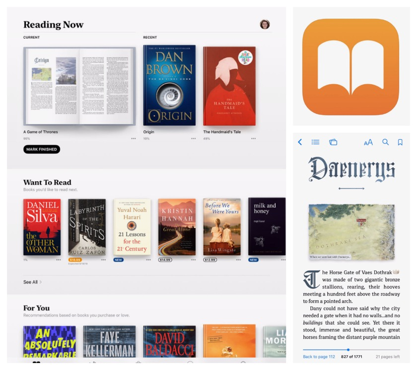 Best book apps for iPad and iPhone - Apple Books