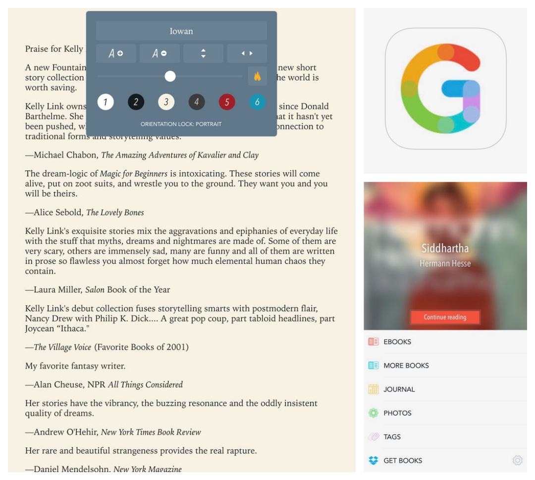 Best iPad and iPhone apps for book lovers - Gerty