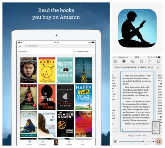 Best iPad and iPhone apps for book lovers - Kindle