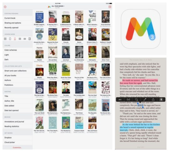 Best iPad and iPhone apps for book lovers - Marvin 3