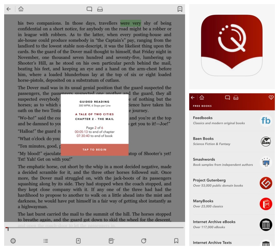 Best iPad and iPhone apps for book lovers - QuickReader