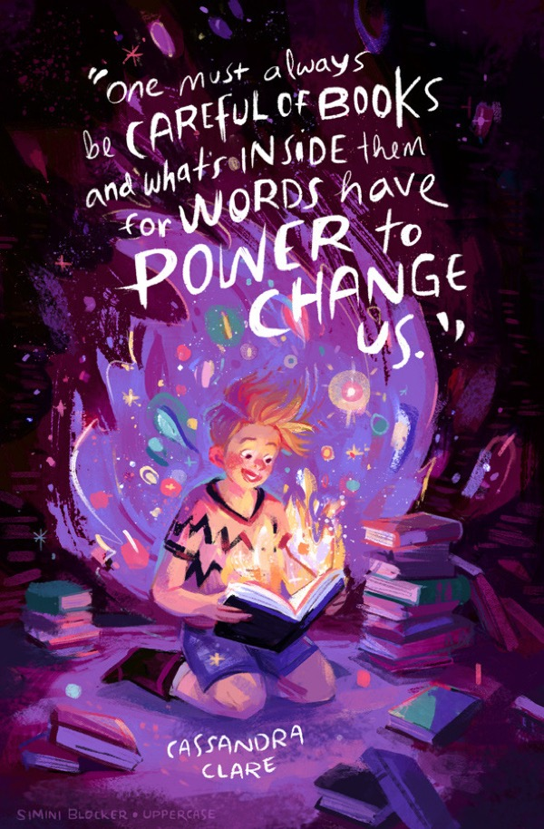 Book quote illustrations by Simini Blocker - Cassandra Clare