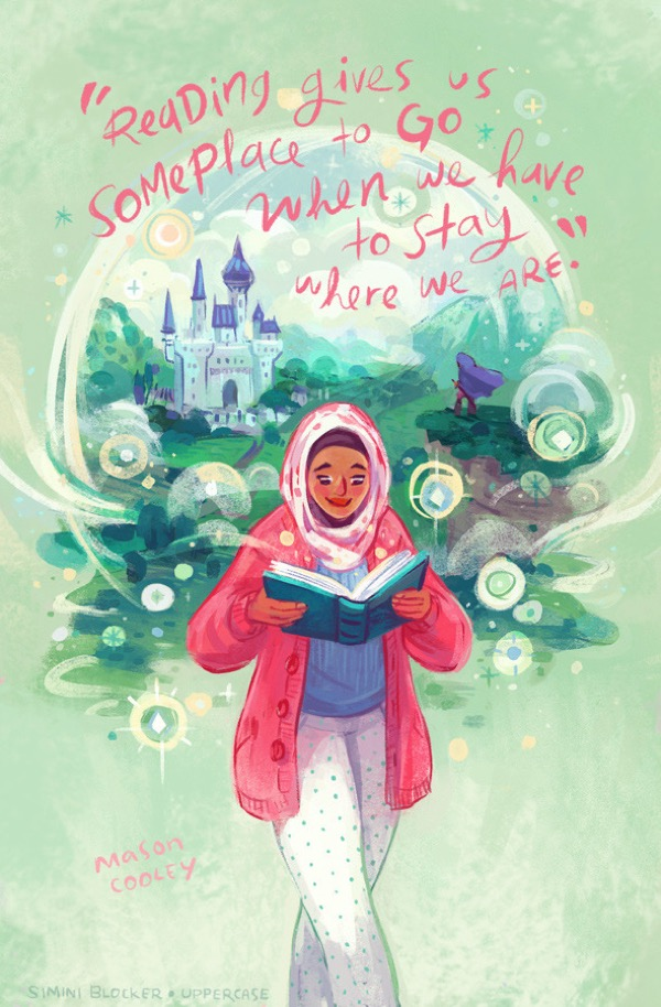 Book quote illustrations by Simini Blocker - Mason Cooley
