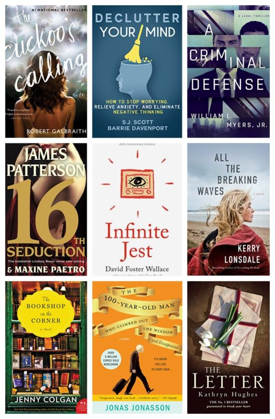 Kindle Daily Deal for January 28, 2018 - over 50 most wished for ebooks up to 80% off