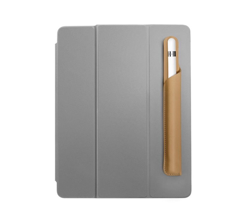 Pencil Snap can be attached to any iPad case that supports auto wake fuction