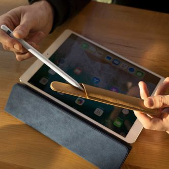 Twelve South Pencil Snap is a detachable Apple Pencil holder that snaps with magnets to almost any iPad pro case