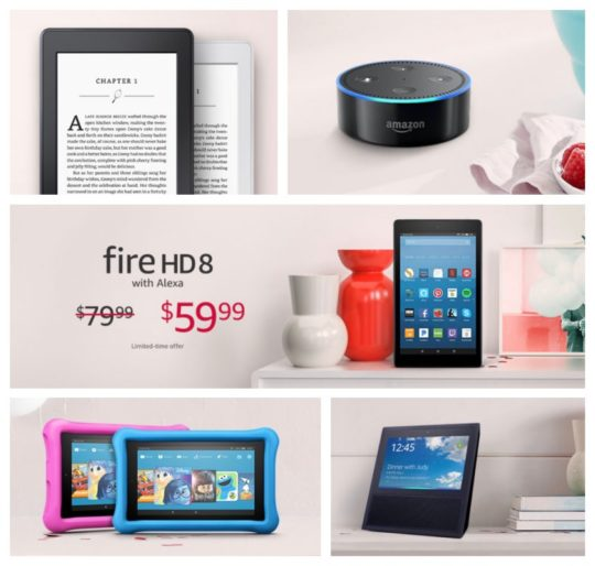 All the lovely deals on Amazon devices in one handy list