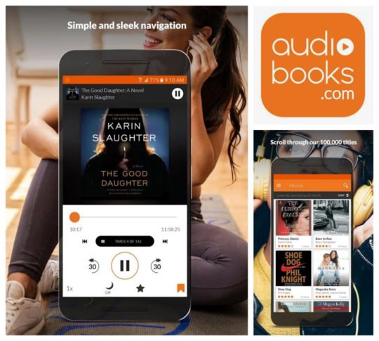Audio Books app for Android is among the best audibook apps in the Google Play Store