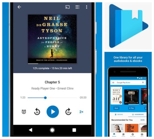 8 best audiobook apps you can use on your android phone or tablet best audiobook apps for android google play books fandeluxe Choice Image