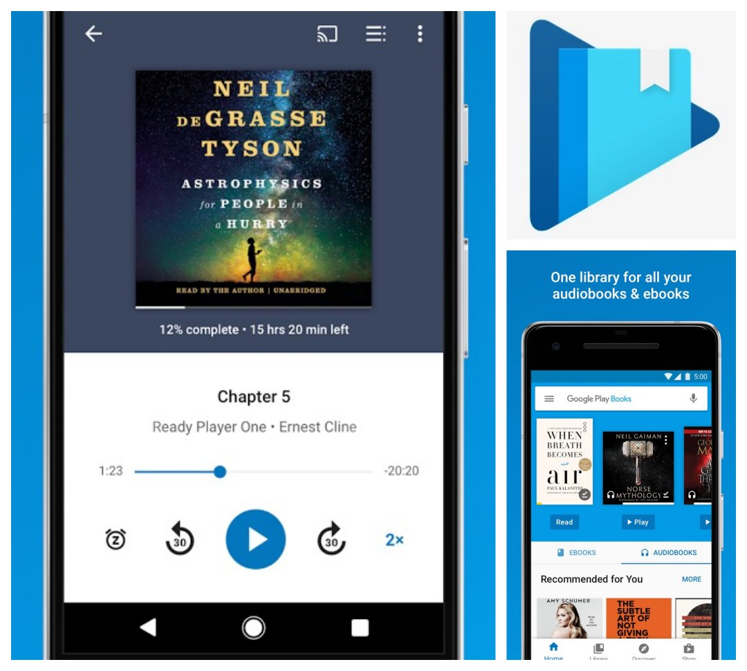 Best audiobook apps for Android - Google Play Books