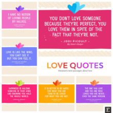 Best love quotes - literature's most beautiful passages about love