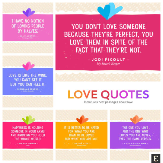 30 Best Love Quotes From Literature