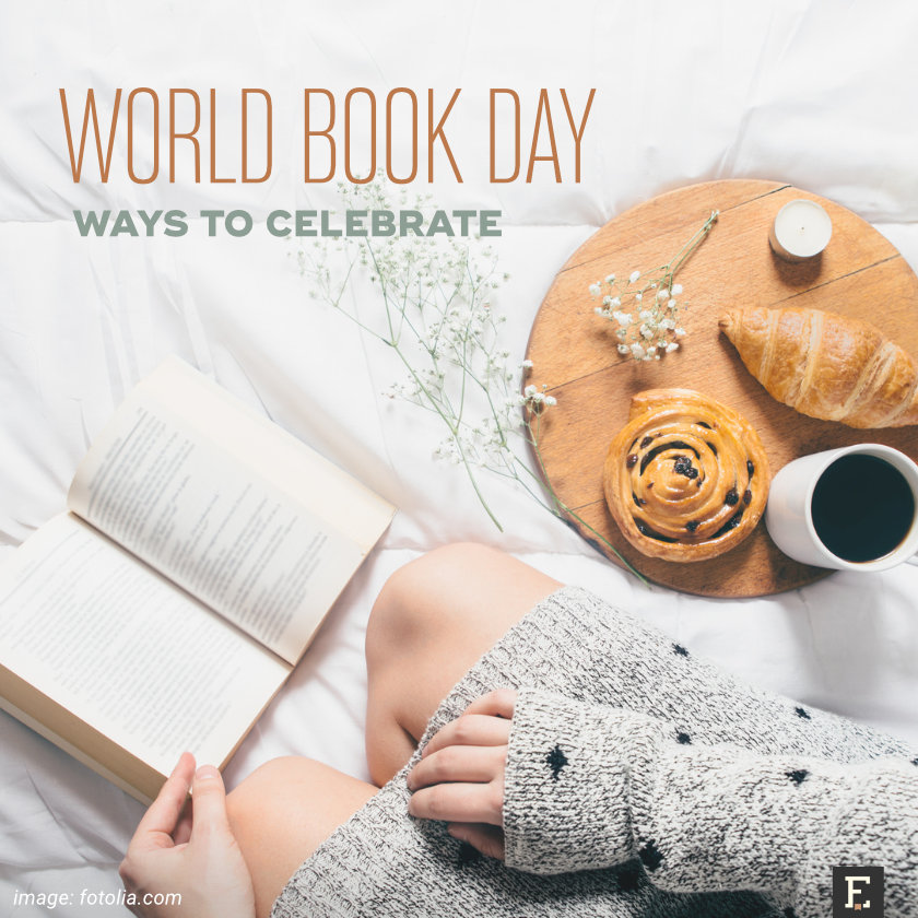 Easy ways to celebrate World Book Day