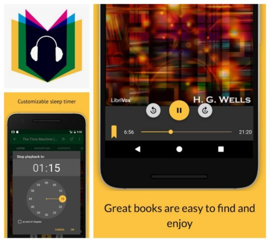 Top Android apps for audiobooks - LibriVox Audio Books Free