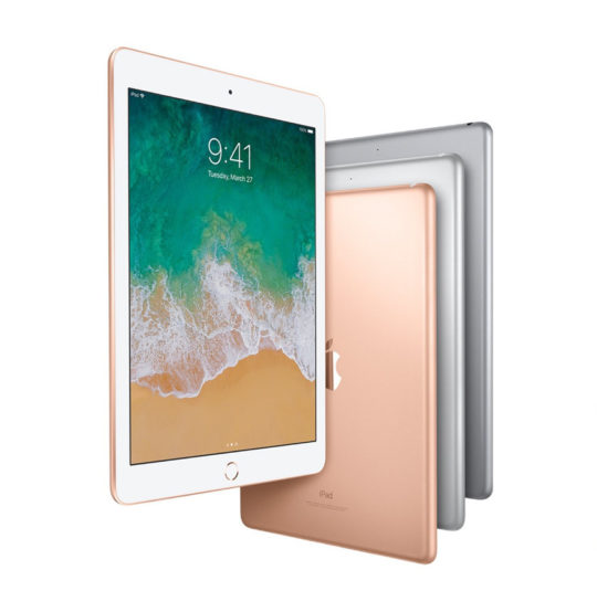Apple iPad 9.7 2018 is available in Silver, Gold, and Space Gray