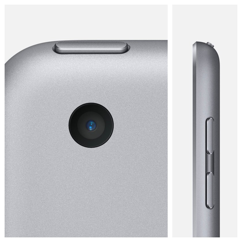 Apple iPad 9.7 2018 rear camera and volume buttons