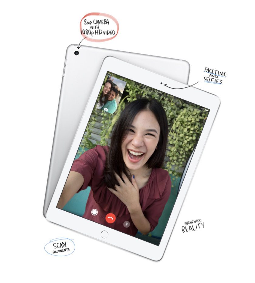 Apple iPad 9.7-inch has the same cameras as the 2017 release