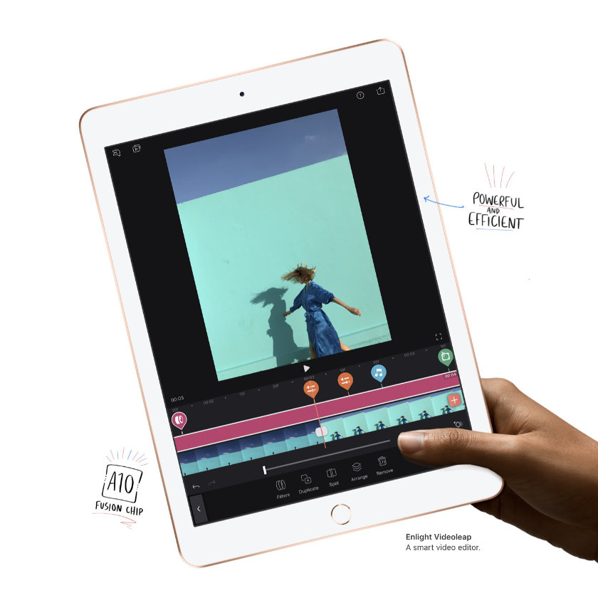 Apple iPad 9.7 released in 2018 is powerful and efficient