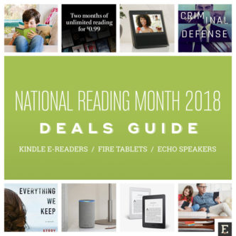 Best Amazon deals - National Reading Month 2018
