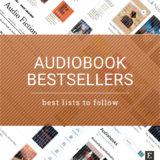 8 popular audiobook bestseller lists to follow