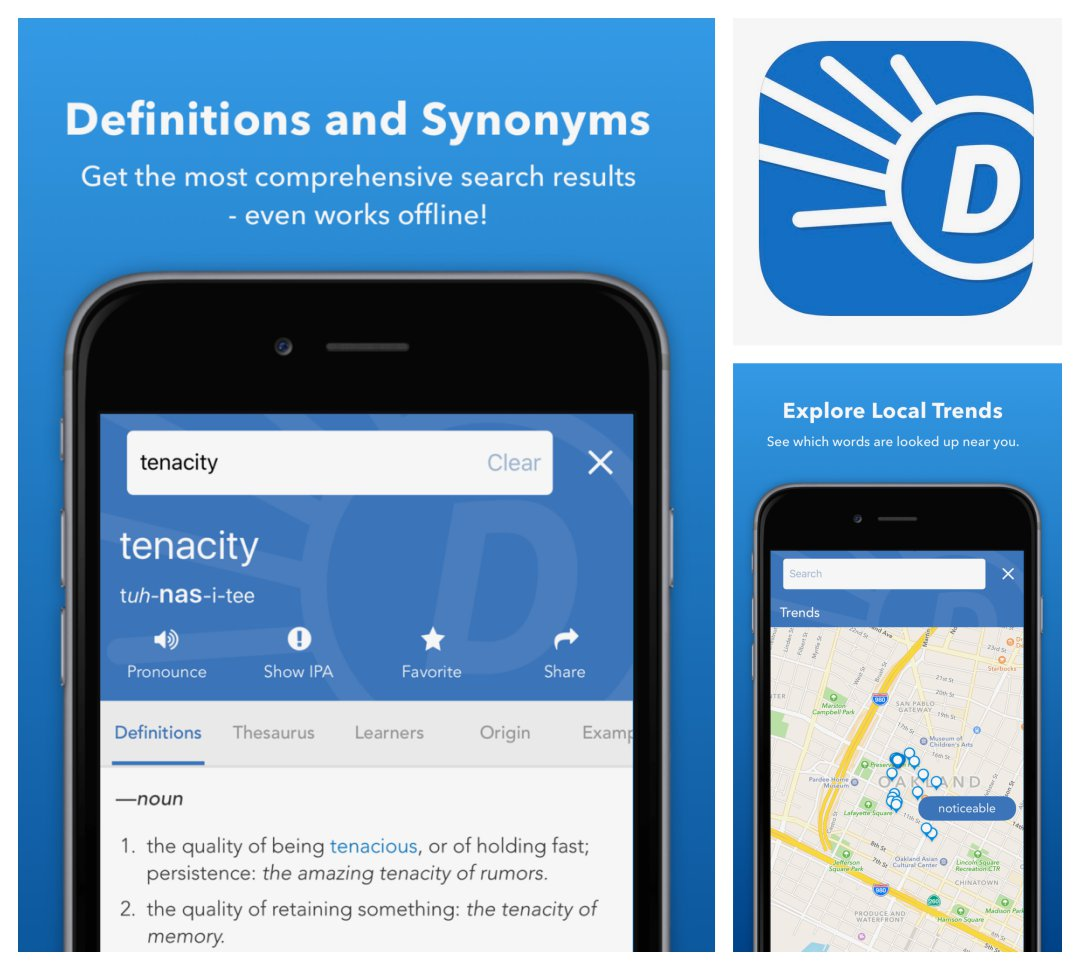 Dictionary.com - best dictionary and thesaurus apps for iPhone