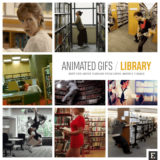 14 funniest and weirdest animated gifs that are set in libraries