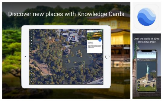 Google Earth - best learning apps for iPad and iPhone