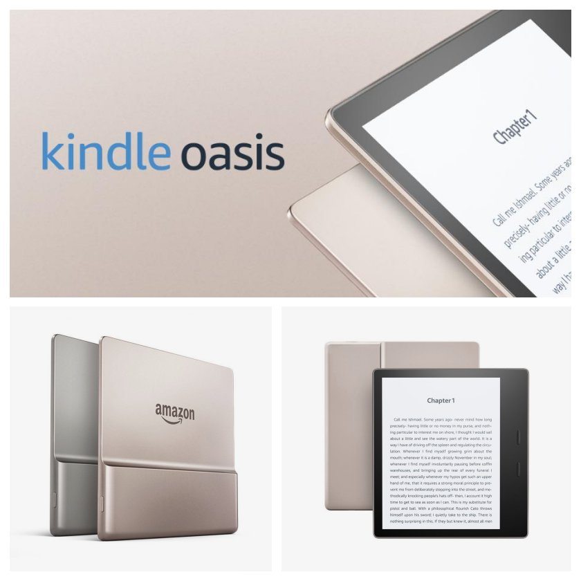 2nd-generation Kindle Oasis is available in Champagne Gold color option on March 22, 2018