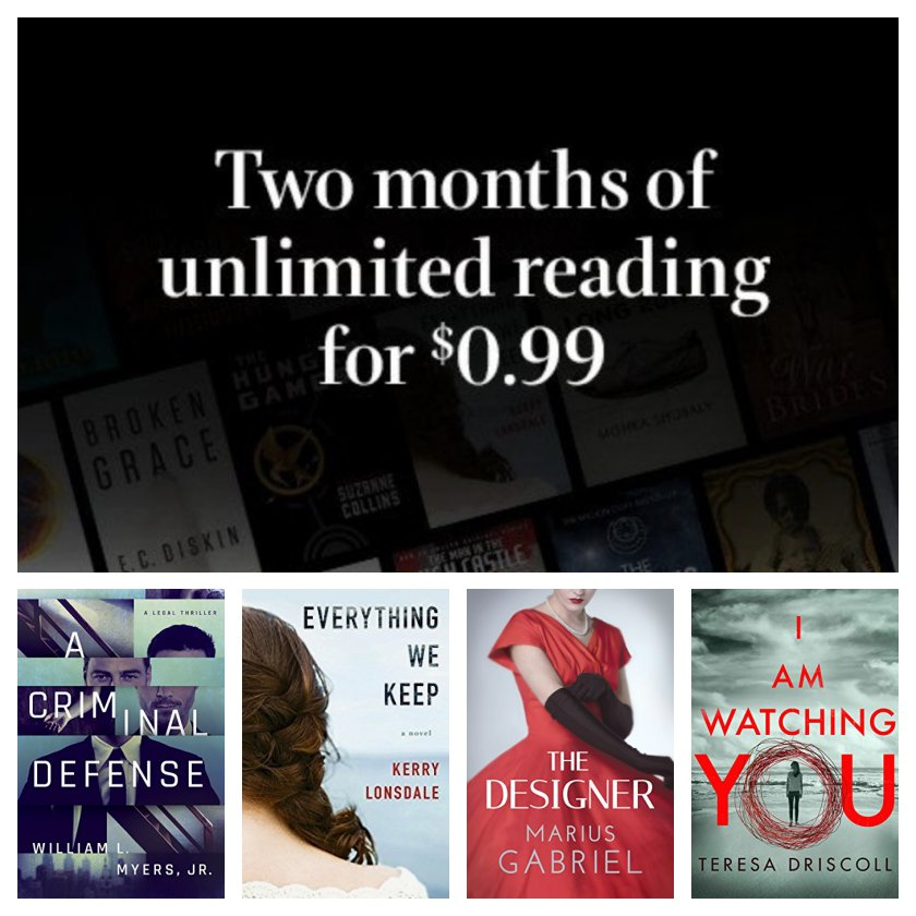 National Reading Month 2018 - deals on Kindle ebooks and services