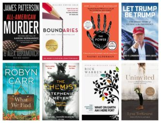 Select New York Times bestsellers are deeply discounted for kIndle on March 25, 2018