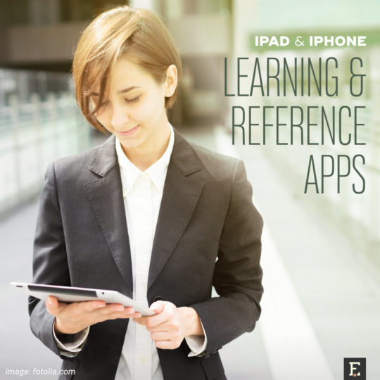 The best learning and reference apps for iPad and iPhone